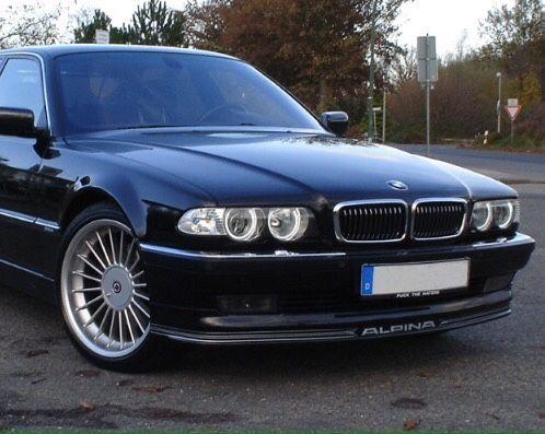 Мигач ляв БМВ Е38 десен мигачи бял АЛПИНА Б7 BMW 740 фейс халоген 730д