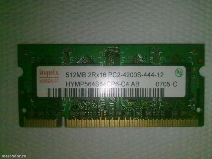 Memorii Ram DDR 1,2,3 SODIMM 512,1,2 Mb/Gb