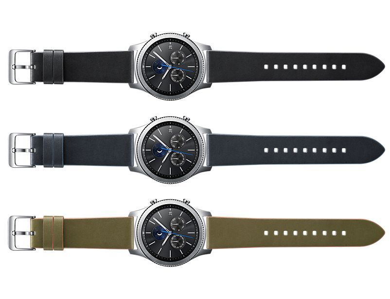 Curea originala Leather Samsung Gear S3 Classic