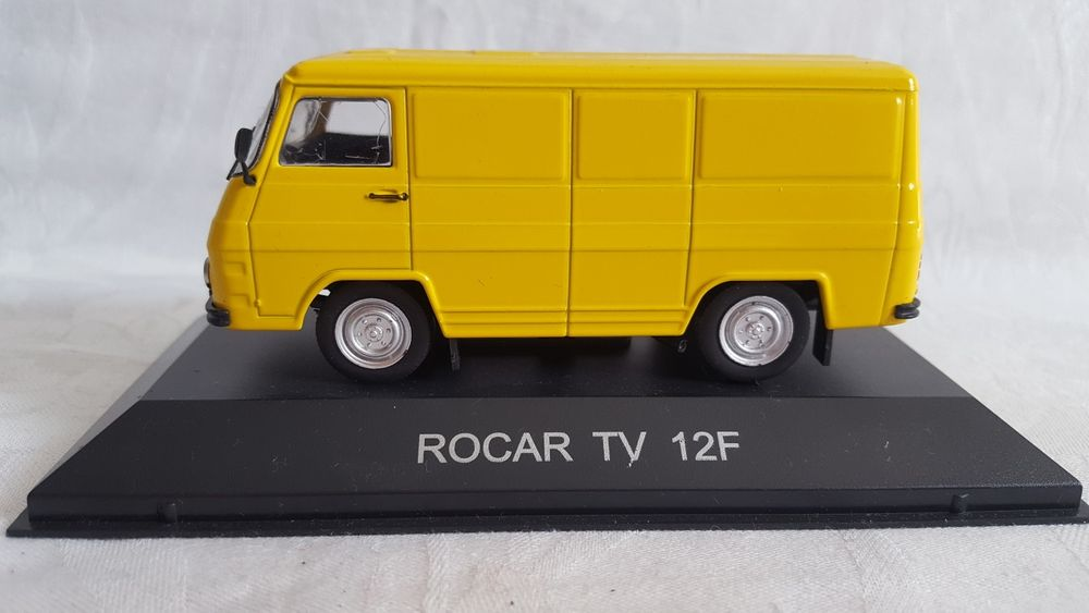Macheta DeAgostini Rocar TV 12 F Scara 1:43