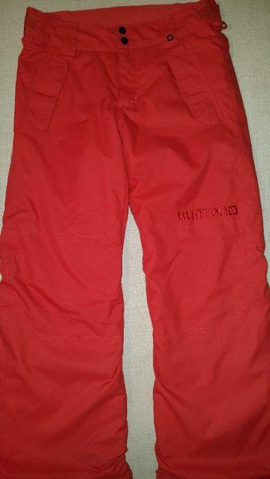 Pantaloni Burton Dryride schi ski baieti marimea 147 coral