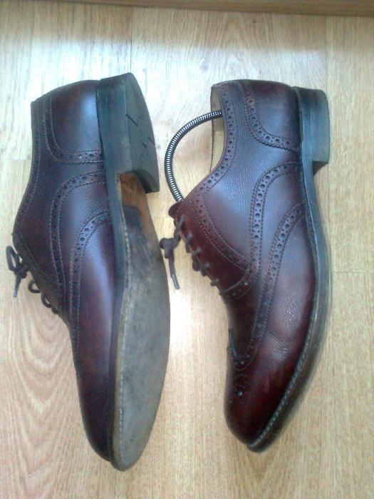 Pantofi Oxford piele Van Lier