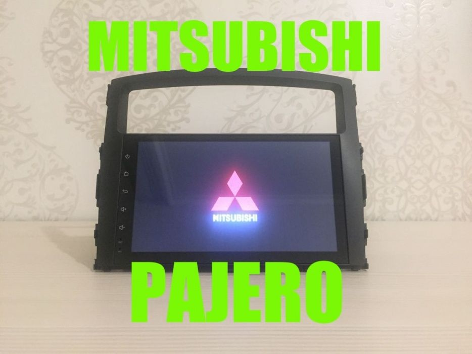 Штатная магнитола Мицубиси Паджеро (Шгу магнитофон Mitsubishi Pajero)