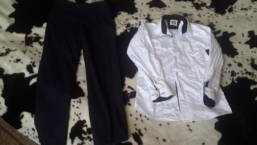 Рубашка и брюки на стройного мальчика. 34р.