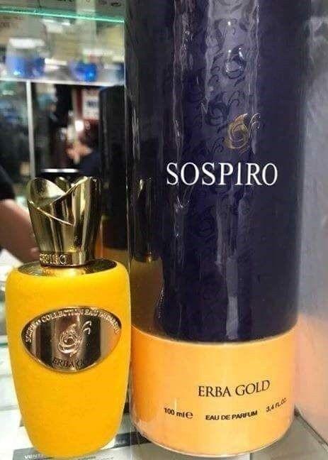 Sospiro Erba Gold 100ml I Parfum Tester (SIGILAT)