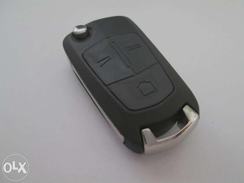Сгъваем ключ за Opel с 3 бутона!