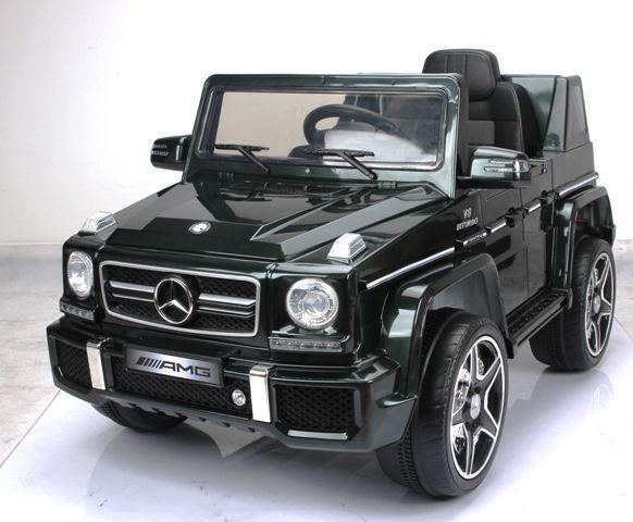 Masinuta electrica Mercedes Benz G63 nou! acumulatori si telecomanda