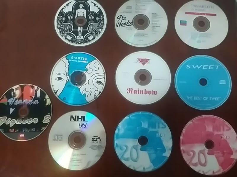 музика CD нови