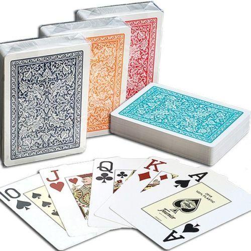 Карты для покера FOURNIER 100% пластик