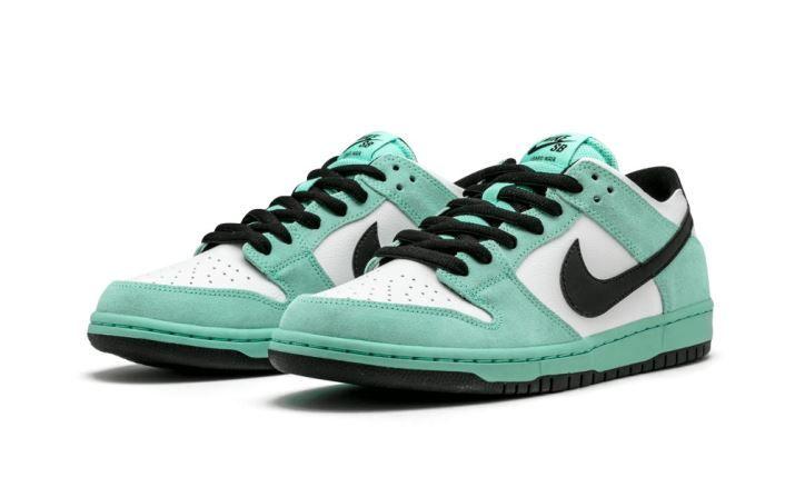 Nike Dunk low Pro SB White Green