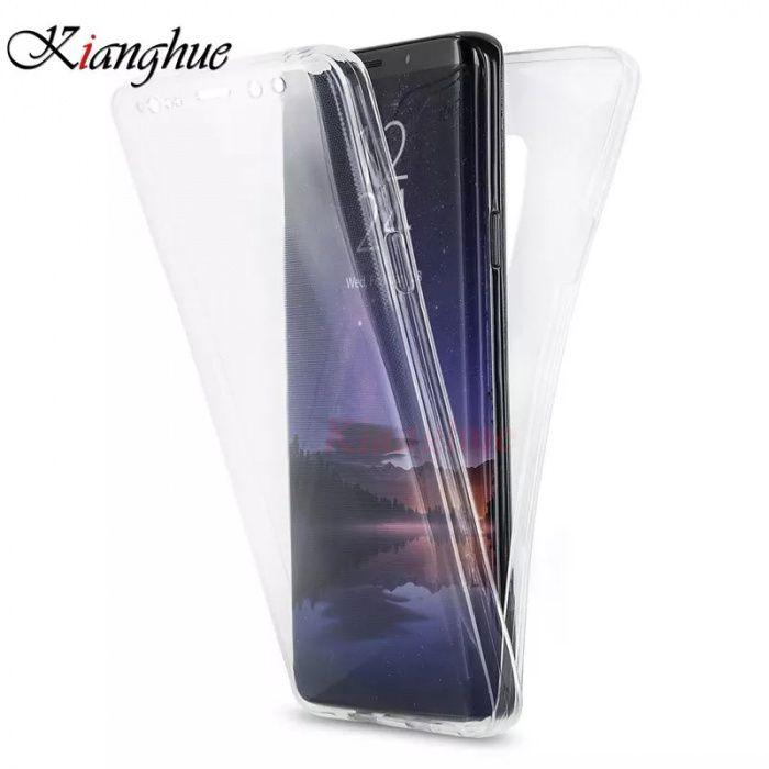 """Huse silicon 360 """" fata / spate Samsung S9 / S9 Plus / S8 / S8 Plus"""