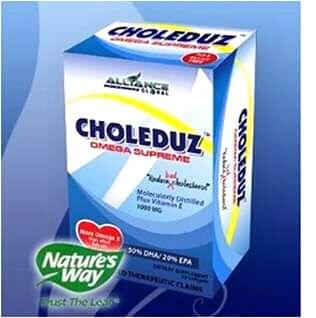 Suplementos Nutricionais da AIM Global: CHOLEDUZ ( COLREDUZ )
