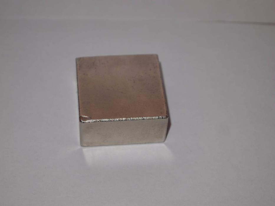 Magnet neodim N52 4x4x2 cm, 68 kg, bloc de dimendiune mare