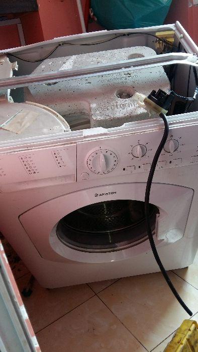Reparação Manutenção motagem de maquinas de lavar roupa.