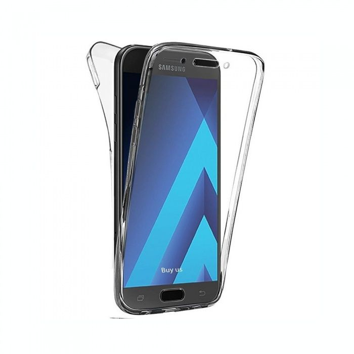 Husa 360 Samsung S6 Edge / S7 Edge - silicon transparent