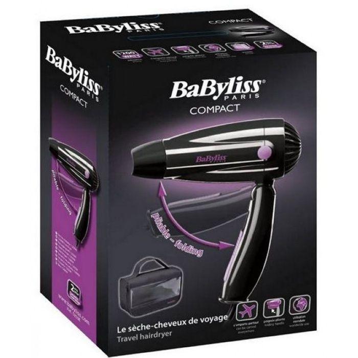 Secador de cabelo para viagens BABYLISS 5250E