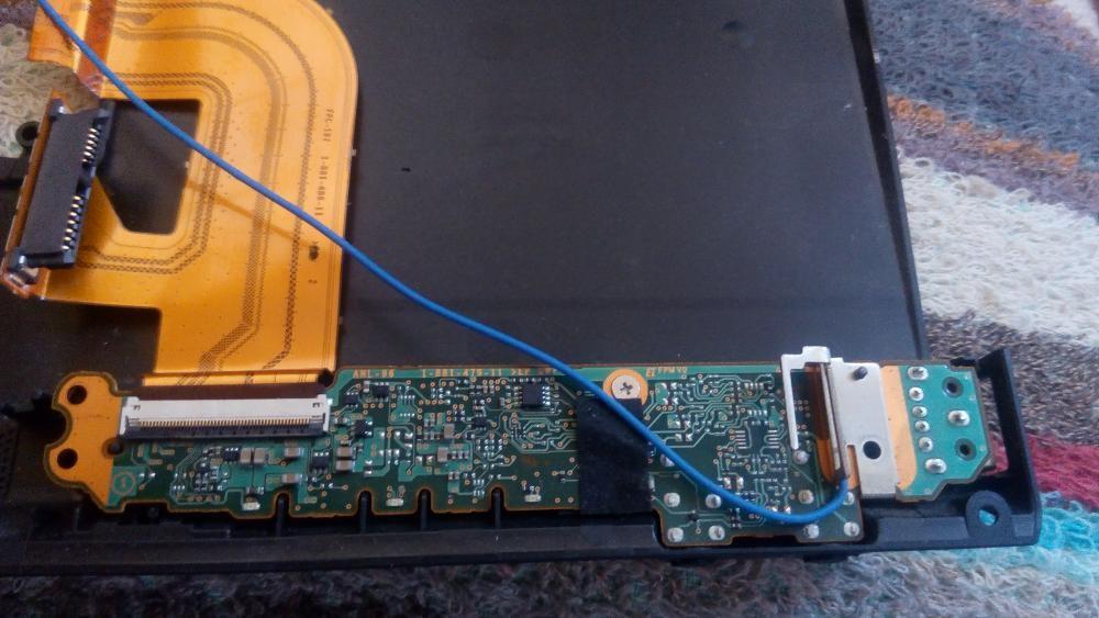 Modul placa de sunet mufe frontale+USB lateral pentru Sony Vaio VPCZ1