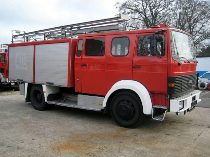 Autospeciala Masina de Pompieri Iveco Magirus Deutz, MAN TLF16/25