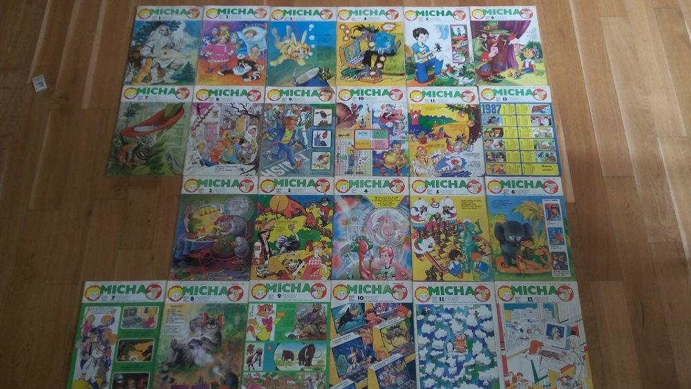 Reviste Micha / Mischa pentru copii /sovietice 1986-1990