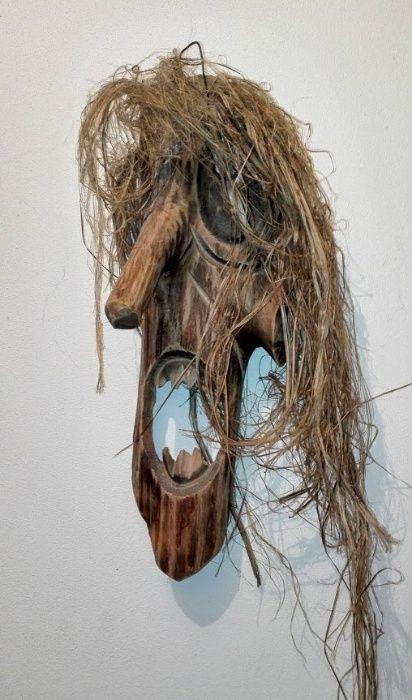 Masca lemn