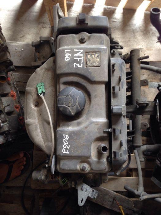 Vand motor 206 1.6b cod NFZ