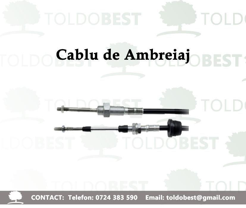 cablu de ambreiaj, case , john deere, fiat, same, ford,cablu de frana