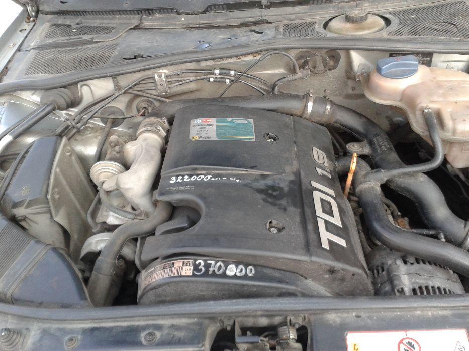 Двигател Audi A4 1,9TDI -1Z-90к.с