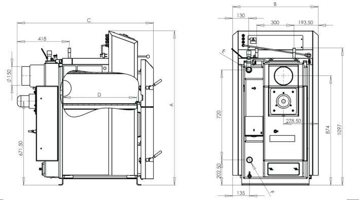 Ventilator cazan lemne ATTACK DP25 si DP35 Brasov - imagine 5
