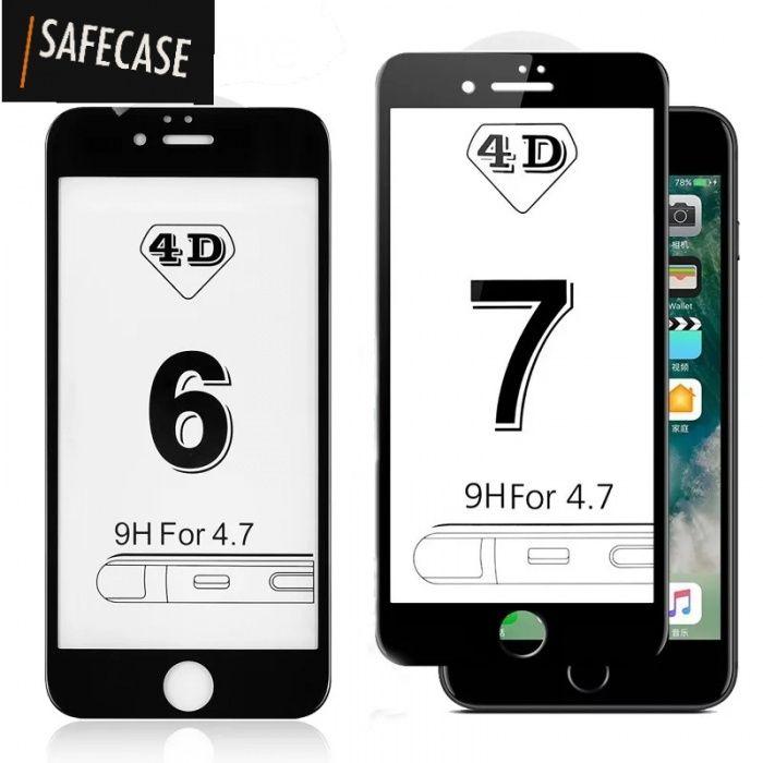 4D Стъклен протектор за Iphone 6 / 6S / 7 / 7+ / 8 / 8+ Plus X 10 / 3D