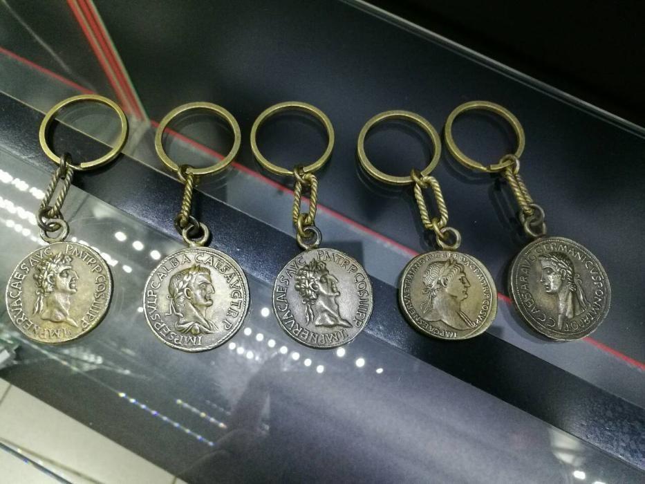 Ключодържател монета