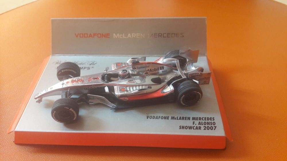 Macheta McLaren Mercedes F.Alonso