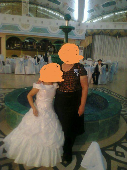 Бальное платье, с кольцом продам или на прокат