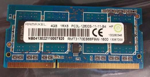 Memorie laptop 4GB DDR3