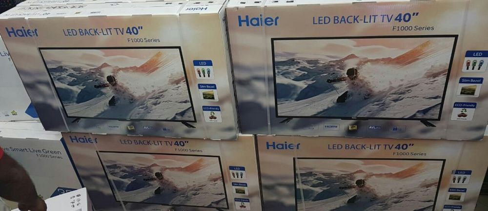 "Tv led haier 40"" selados stock ilimitado"