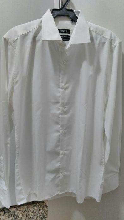 Рубашка новая белая
