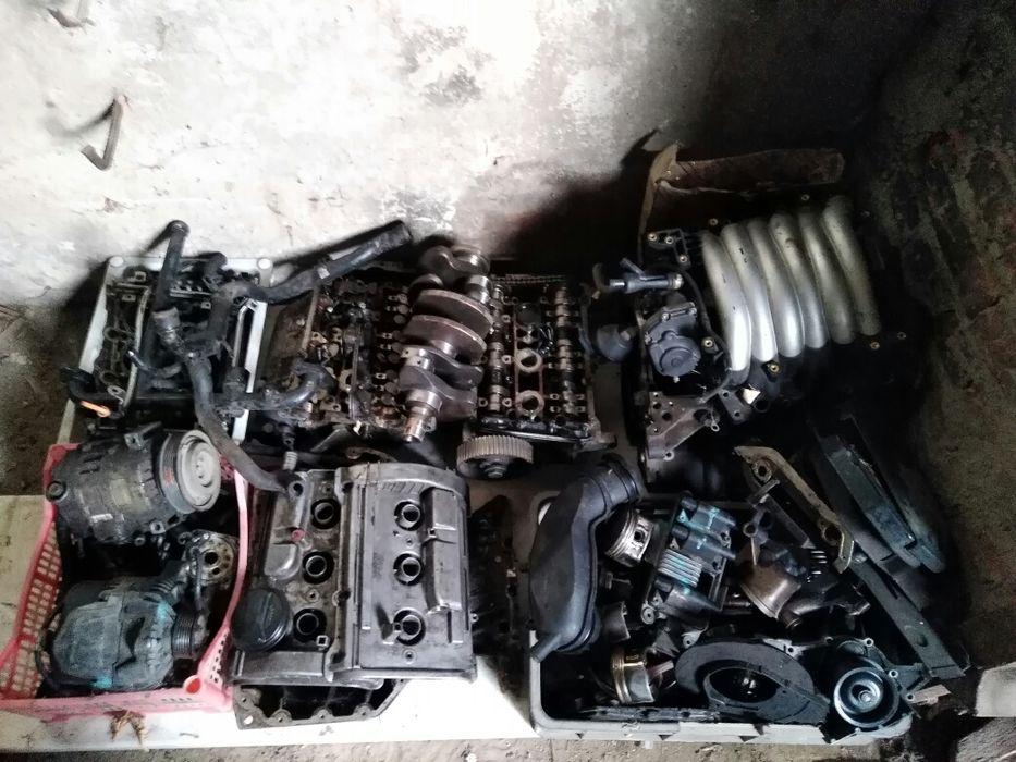 Двигатель Ауди а 6 контрактный 2,4 бензин 30 клапанный V образный