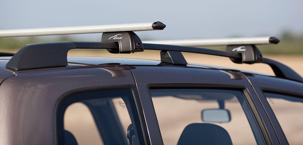 Багажник на крышу автомобиля с рейлингами
