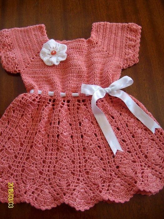 детска пролетна рокличка