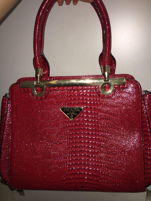 сумка - красная
