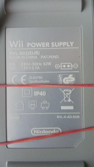 Vand Alimentator / Incarcator Nintendo Wii 12V 3,7A