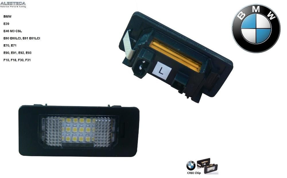 Lampa numar LED BMW e39 e46 M3 CSL e60 e60LCI e61 e61LCI e70 e71 e90