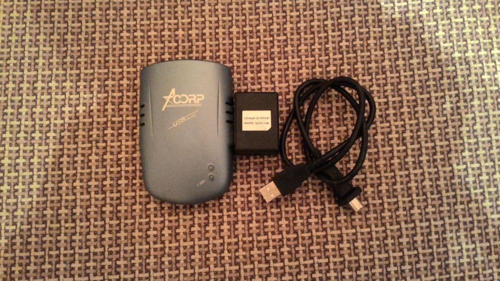Модем Acorp AC1UA-P+ USB ADSL