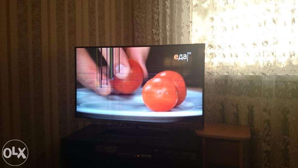 Продаж телевизор на запчасти, телевизор 2013 года, с подсветкой экрана