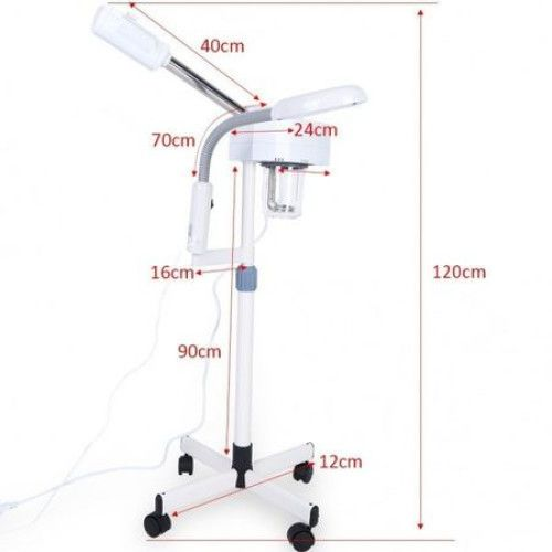 Vapozon cu Lampa Cosmetica LED si Lupa - Combina Cosmetica Bucuresti - imagine 2