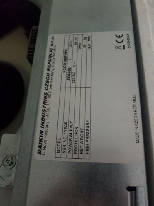 Aer conditionat DAIKIN tip caseta , duct,recuperator de caldura