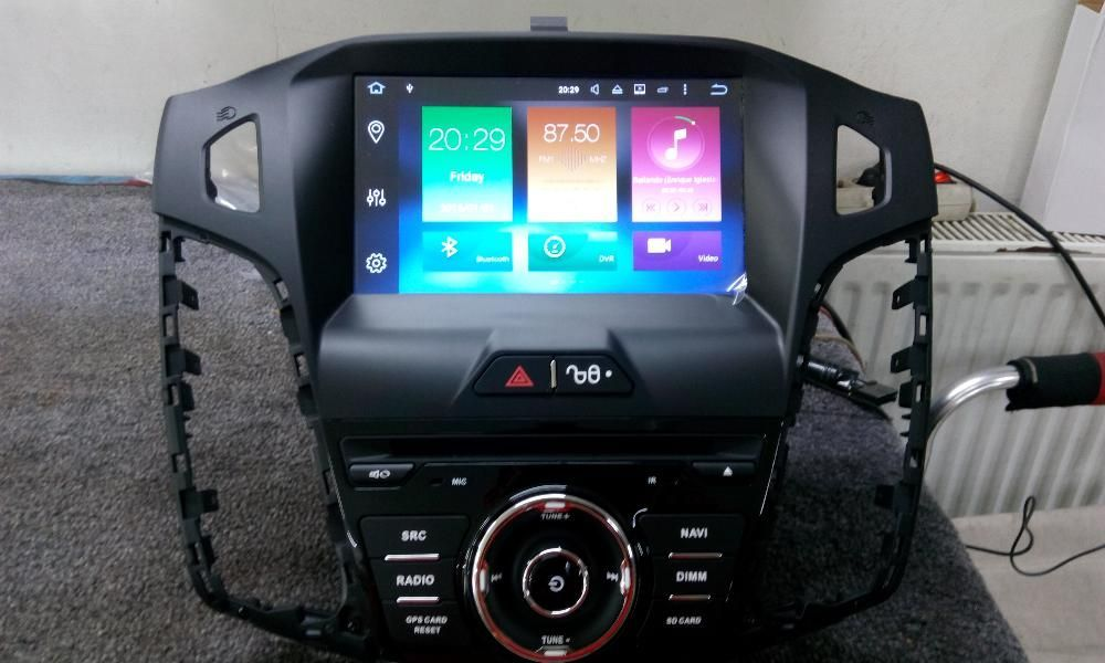 Navigatie Ford Focus MK3 ANDROID 8.0 OCTACORE 32GB pentru 2011-2015