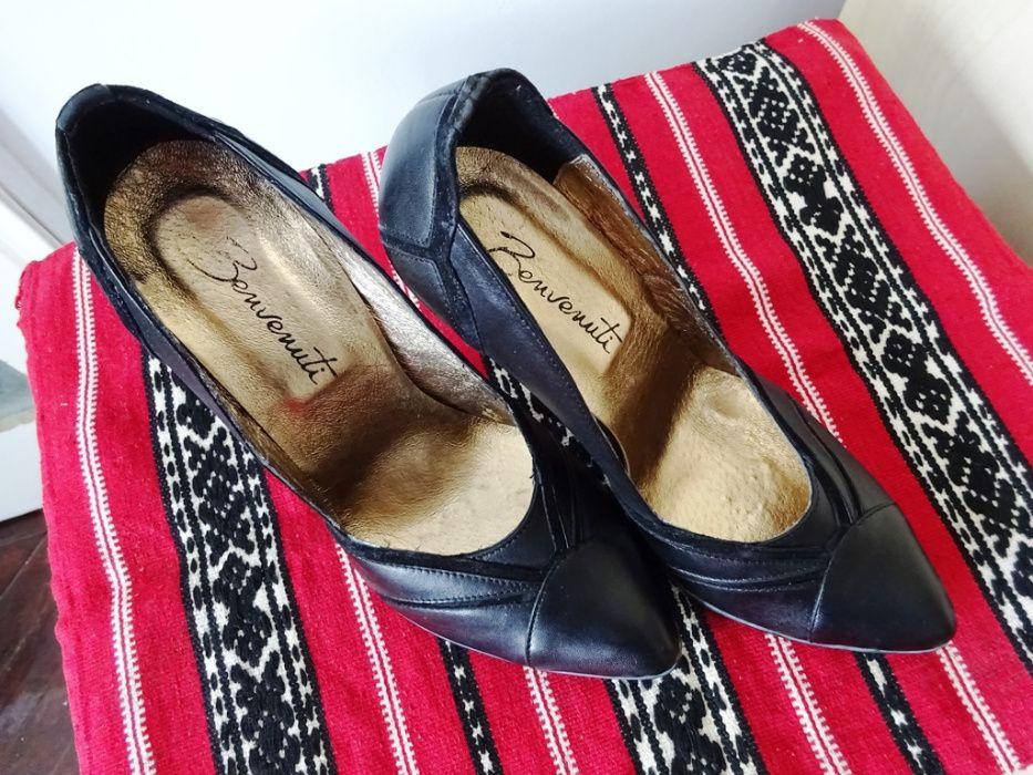 Pantofi piele naturală Benvenuti