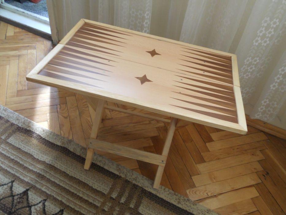 сгъваема маса-табла