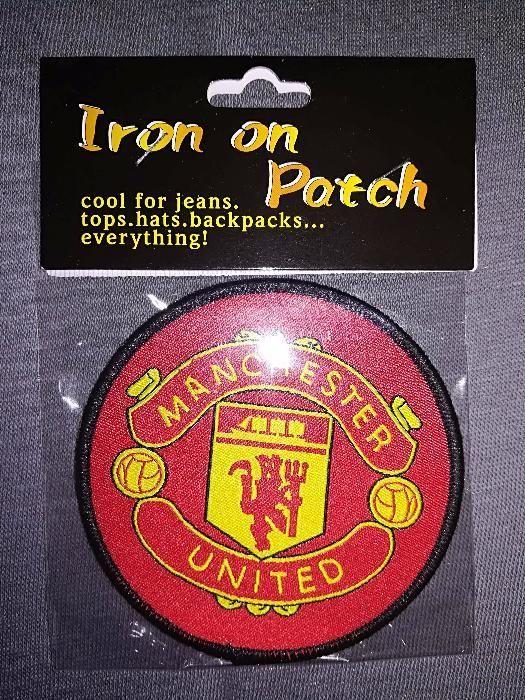 Бродирана нашивка - емблема за пришиване на Манчестър Юнайтед и Барса