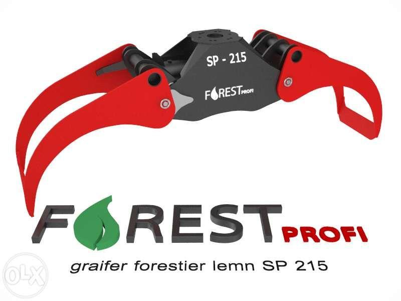 Graifer forestier SP 215 deschidere 2150mm